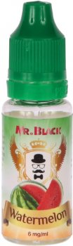 Жидкость для электронных сигарет Mr.Black Watermelone 15 мл (Свежий и сочный арбуз)