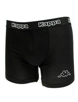 Трусы Kappa Boxers 2-pack 304JB30 987 Черные и Черно-фиолетовые