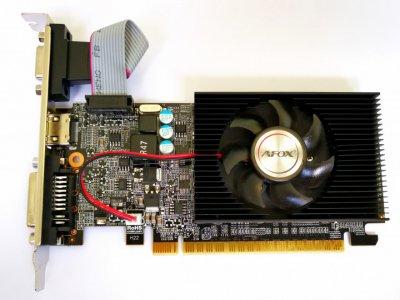 Відеокарта Afox GeForce GT710 1GB DDR3 (AF710-1024D3L8-V2) (6597211)