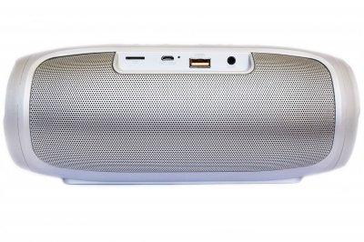 Портативна бездротова Bluetooth стерео колонка T&G Charge 4 Plus Сіра (Charge 4 Grey)