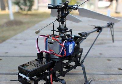 Вертолет Nine Eagles Solo PRO 228 RTF 498 мм 2,4 ГГц (NE30222824207003A (NE R/C 228A)