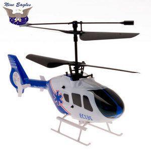 Вертолет Nine Eagles EC 135 RTF 215 мм 2,4 ГГц (NE30221024206016A)