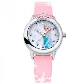 Детские часы Kezzi Холодное сердце светло-розовые