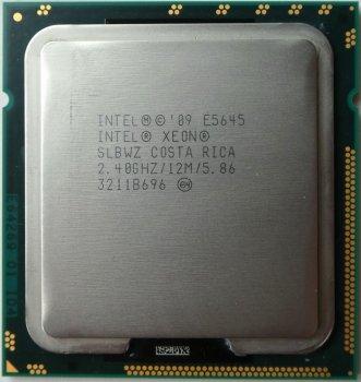 Процессор Intel E5645 2.40GHz 6C 12M 80W (E5645) Refurbished