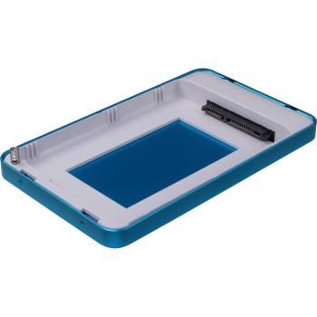 "Зовнішній кишеню Argus для HDD/SSD 2.5"" USB Type-C Blue (GD-25609-BL)"