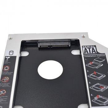 Карман для второго HDD/SSD вместо DVD привода (Optibay Caddy 9.5мм)