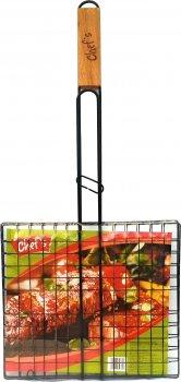 Решетка-гриль Chef's с антипригарным покрытием 56x27x2.4 см (CBT180008)