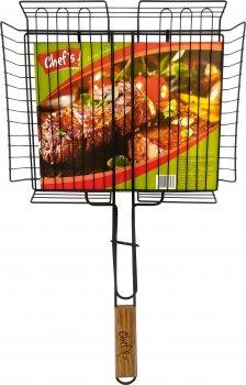 Решетка-гриль Chef's с антипригарным покрытием 31х58х2.6 см (CBT180010)