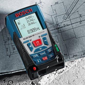 Лазерний далекомір Bosch GLM 250 VF (0601072100)