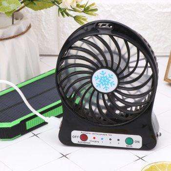 Міні-вентилятор Portable Fan Mini Чорний (0323MD)