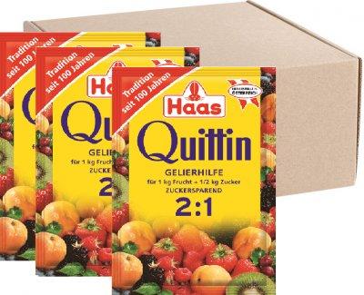 Упаковка квиттина Haas для варки варенья 2+1 20 г х 40 шт (9044400161207)