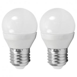 Лампа світлодіодна Eglo 10777 G45 4W 3000K 220V E27 (набір 2шт)