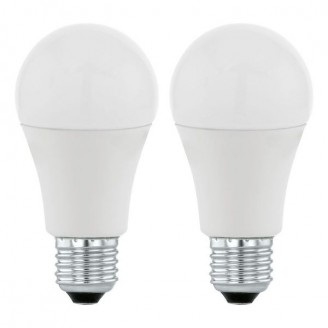 Лампа світлодіодна Eglo 11483 A60 9.5 W 3000K 220V E27 (набір 2шт)