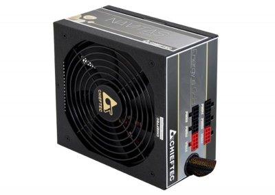 Блок живлення Chieftec GPM-1000C, ATX 2.3, APFC, 14cm fan, ККД 90%, modular, RTL