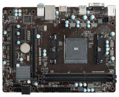 MSI A68HM-E33 V2 Socket FM2+