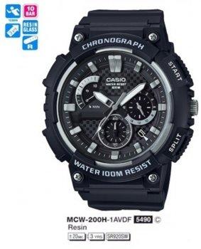 Годинник CASIO MCW-200H-1AVEF