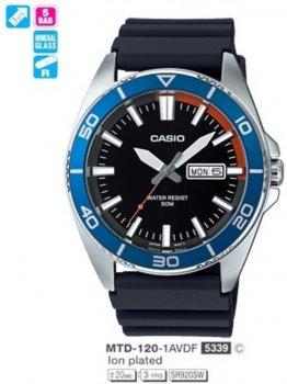 Годинник CASIO MTD-120-1AVDF