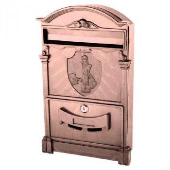 Почтовый ящик Vita Почтальон Печкин (коричневый) (PO-0025)