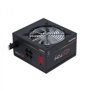 Блок живлення Chieftec CTG-650C-RGB, ATX 2.3, APFC, 12cm fan, ККД 85%