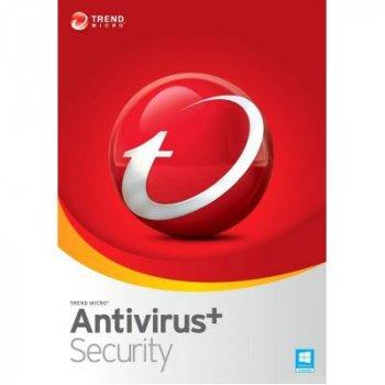 Антивірус Trend Micro AntiVirus+ 2019 3ПК, 12 month(s), Multi Lang, Lic, New (TI10974243)