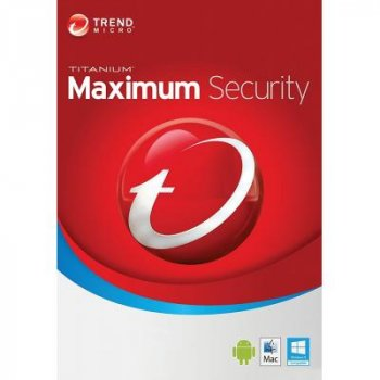 Антивірус Trend Micro Maximum Security 2019 3ПК, 12 month(s), Multi Lang, Lic, New (TI10974263)