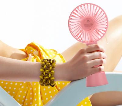 Ручной портативный вентилятор Handy Mini Pink (Eternal ST-09) Розовый