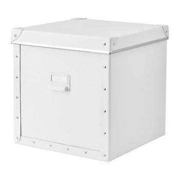 Контейнер для хранения IKEA FJÄLLA 30x31x30 см белый 104.040.29