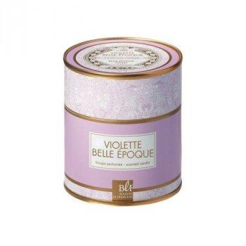 Ароматична свічка BLF (арома) BOUDOIR 45 H. Violette Belle Epoque GIFT BOX 7,2 см 387345-BLF