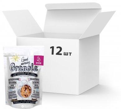 Упаковка сухих завтраков Good morning Granola С сухофруктами 330 г х 12 шт (24820192180041)