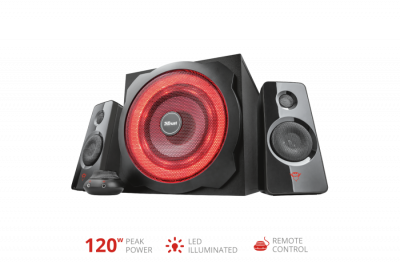Акустическая система Trust GXT 4628 Thunder 2.1 Illuminated Speaker Set(21930)