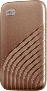 Портативний SSD USB 3.0 WD Passport 2TB R1050/W1000MB/s Gold