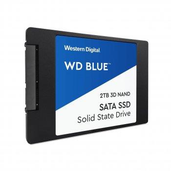 """Твердотільний накопичувач SSD 2.5"""" WD Blue 2TB SATA TLC"""