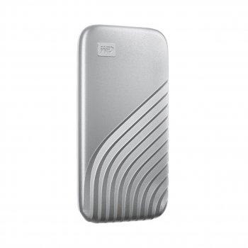 Портативний SSD USB 3.0 WD Passport 1TB R1050/W1000MB/s Silver