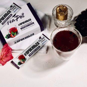 Чай смородиновий концентрований у стиках TeaPot 20 г x 9 шт. (4820143390488)