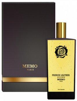 Парфюмированная вода унисекс Memo French Leather 75 мл (3700458611595)