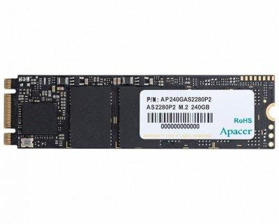 Накопичувач SSD M. 2 240GB Apacer AS2280P2 (AP240GAS2280P2-1)