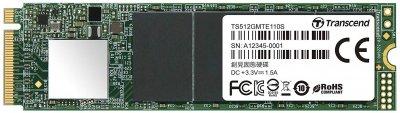 Накопичувач SSD M. 2 512GB Transcend (TS512GMTE110S)