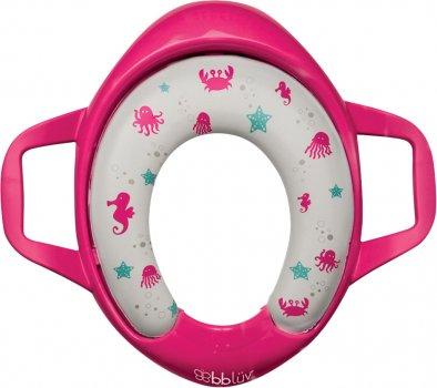 Сиденье детское для унитаза Bbluv Pöti Розовое (B0112-P) (628451387350)