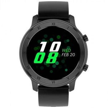 Смарт-годинник Smart Ventus Pro з пульсометром і тонометром + крокомір і моніторинг сну Чорний