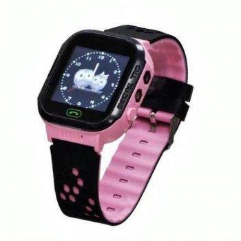Дитячі розумні Smart Watch KIDS Original GPS годинник Pink (5205-OE)