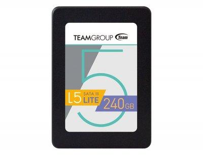 "Накопичувач SSD 240GB Team L5 Lite 2.5"" SATAIII TLC (T2535T240G0C101)"