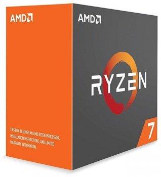 Процессор AMD Ryzen 7 1700X 3.4(3.8)GHz sAM4 Box (YD170XBCAEWOF)
