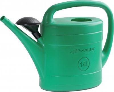 Садова лійка Prosperplast SPRING 14 л Зелена (5905197654751)