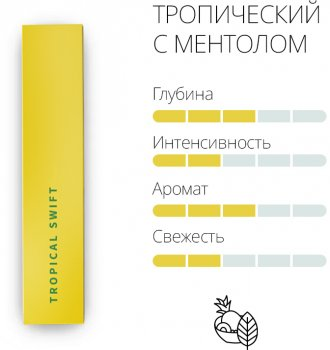 Блок стиків для нагрівання тютюну HEETS Tropical Swift 10 пачок (7622100818052)