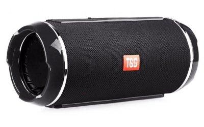 Портативна bluetooth стерео колонка вологостійка TG116 Black T&G (116 Black)
