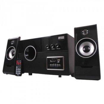 Мультимедийная акустика INTEX SUF Black KOM0004 с низкочастотным сабвуфером