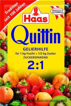 Упаковка квиттина Haas для варки варенья 2+1 20 г х 6 шт (4023800063101)