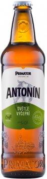 Упаковка пива Primator Antonin светлое фильтрованное 4% 0.5 л х 20 шт (8594006930031)