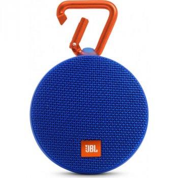 Портативна акустика JBL Clip 2 Blue (BZ-225729)