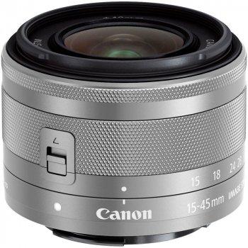 Недзеркального зі змінними об'єктивами Canon Eos M100 kit (15-45mm) Is Stm White білий